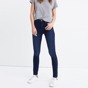 "MADEWELL  10"" Skinny High-Rise Jeans"